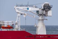 Multi Zweck der australischen Grenzkraft weg vom Uferschiff Ozean-Schild in Jervis Bay stockbilder
