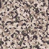Multicam camo seamless pattern Stock Images