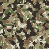 Multicam seamless camo Stock Photos