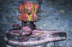Multicolor камень церемонии на мустанге Стоковые Изображения