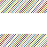Multicolor карточка Стоковое Фото