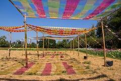 Multicolor крыша Стоковые Фотографии RF