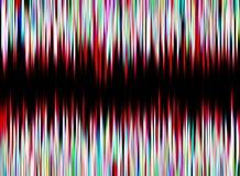 Multicolor неоновая предпосылка конспекта зарева Стоковая Фотография