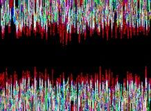 Multicolor неоновая предпосылка конспекта зарева Стоковое Фото