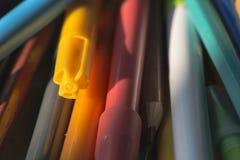 Multicolor отметки для рисовать Стоковое Изображение