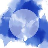 Multicolor предпосылка акварели вектор Стоковые Фото