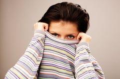 multicolor пуловер Стоковое фото RF