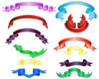 multicolor тесемки Стоковые Фотографии RF