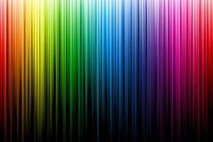 Multicolor лучи радуги бесплатная иллюстрация