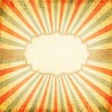 multicolor луч восходящего солнца или солнца, Стоковое Изображение RF