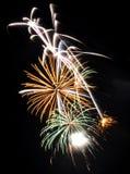 multicolor феиэрверков большое несколько Стоковые Изображения
