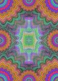 Multicolor флористический шаблон дизайна рамки страницы стоковые изображения