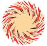 Multicolor элемент геометрического дизайна Абстрактная иллюстрация в Ра иллюстрация штока