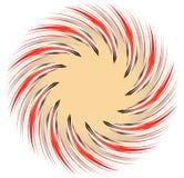 Multicolor элемент геометрического дизайна Абстрактная иллюстрация в Ра иллюстрация вектора