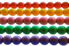 Multicolor abakusów dzieci Fotografia Royalty Free