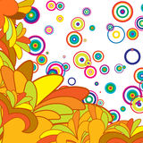 Multicolor Abstract Background Royalty Free Stock Image