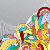 Multicolor abstract background Royalty Free Stock Photography