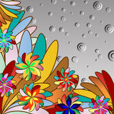 Multicolor abstract background Royalty Free Stock Images