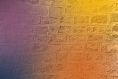 Multicolor abstract background on Concrete wall Stock Photo