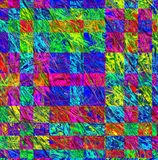 Multicolor abstract background in geometric style. Computer gene. Rated graphics Royalty Free Stock Image