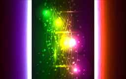 Multicolor abstract backround Stock Photography