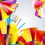 Multicolor abstract bright background. Elements for design. Stock Photography