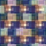 Multicolor abstract checkered pattern in vector. Print for fabric, packaging design.  vector illustration