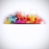 Multicolor Abstract Connections Royalty Free Stock Photo