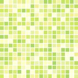 Green geometric background consisting of squares. Multicolor abstract digital background with mesh of squares. Geometric style Royalty Free Illustration