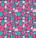 Multicolor abstract geometric pattern Stock Photo
