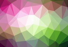 Multicolor abstract geometric rumpled triangular low poly style illustration Royalty Free Stock Image