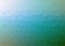 Multicolor abstract geometric rumpled triangular low poly style illustration Stock Images