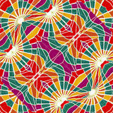 Multicolor Abstract Geometric Seamless Pattern Royalty Free Stock Image