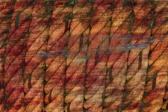 Multicolor abstract grunge rope background Stock Images