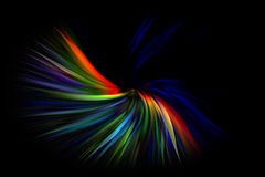 Multicolor abstract motion graphic background Royalty Free Stock Photos