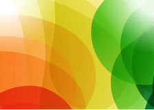 Multicolor abstract shapes graphic illustration. Design background Stock Photography