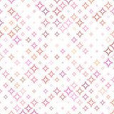Multicolor abstract star pattern background. Design - vector illustration Stock Photo