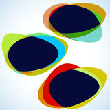 Multicolor abstract template. EPS 8 vector illustration