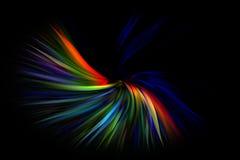 Multicolor abstrakcjonistyczny ruch grafiki tło Zdjęcia Royalty Free