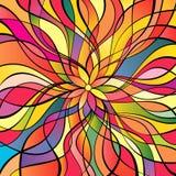 multicolor abstrakt bakgrund Royaltyfri Bild