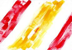 Multicolor acrylic paint texture abstract drawing Stock Photo