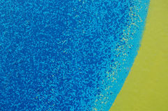 Multicolor background, blue, yellow, grainy Royalty Free Stock Photography