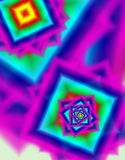 Multicolor background. For images with geometric shapes Stock Photo
