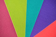 Multicolor background from a paper of different colors Stock Photos