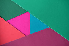 Multicolor background from a paper of different colors Royalty Free Stock Photography