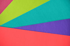 Multicolor background from a paper of different colors Stock Photo