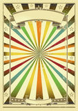 Multicolor background retro Stock Photos