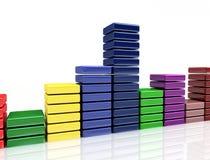 multicolor bakgrund Fotografering för Bildbyråer