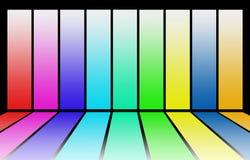 multicolor bakgrund Royaltyfri Fotografi
