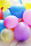Multicolor balloons Stock Photography